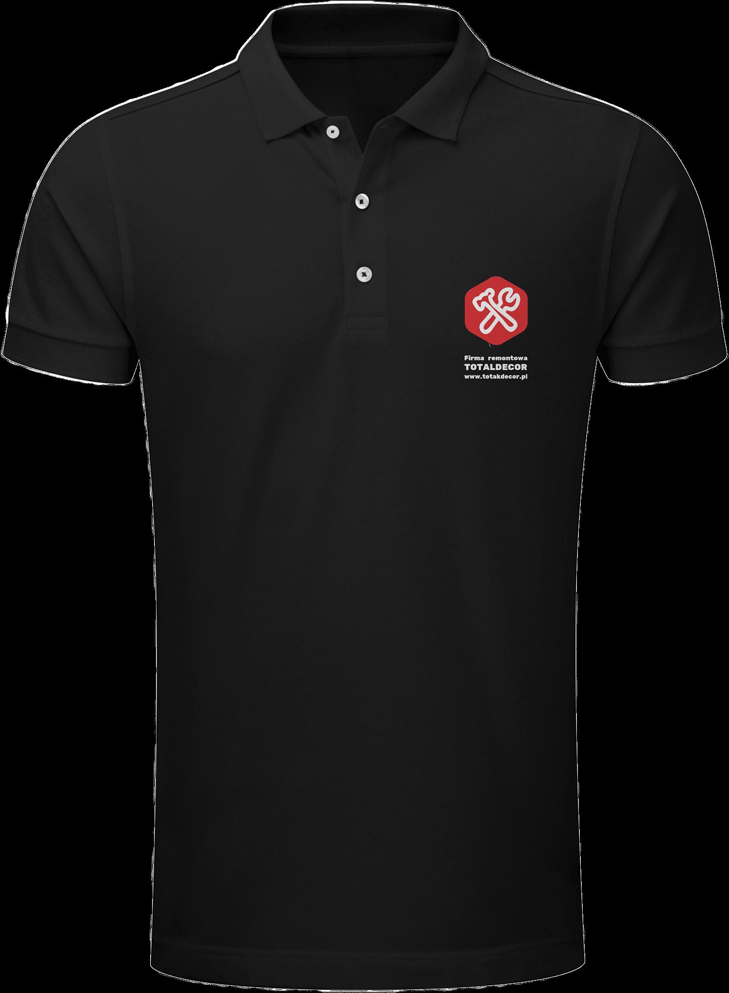 odzież z logo firmowym